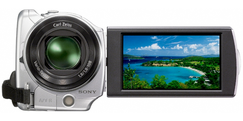 Filmadora sony dcrsr68 software download