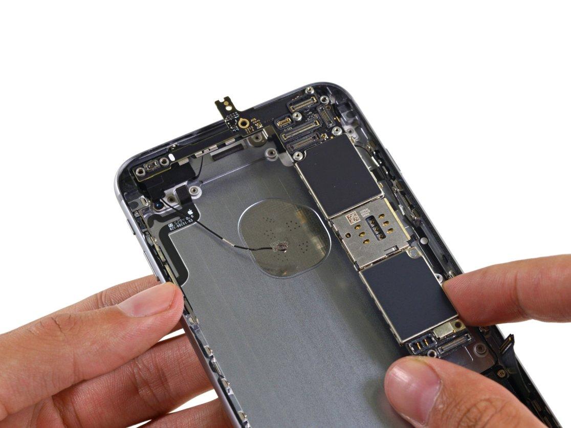 замен процессора на iphone